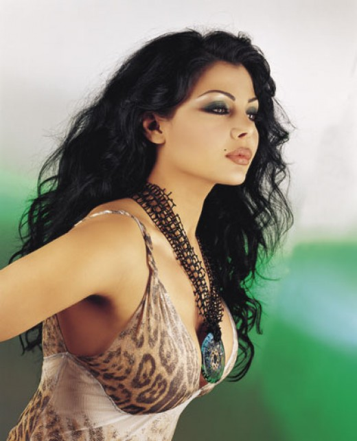 Hot images of haifa wehbe with huge tits