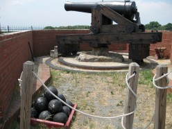 Close up of cannon