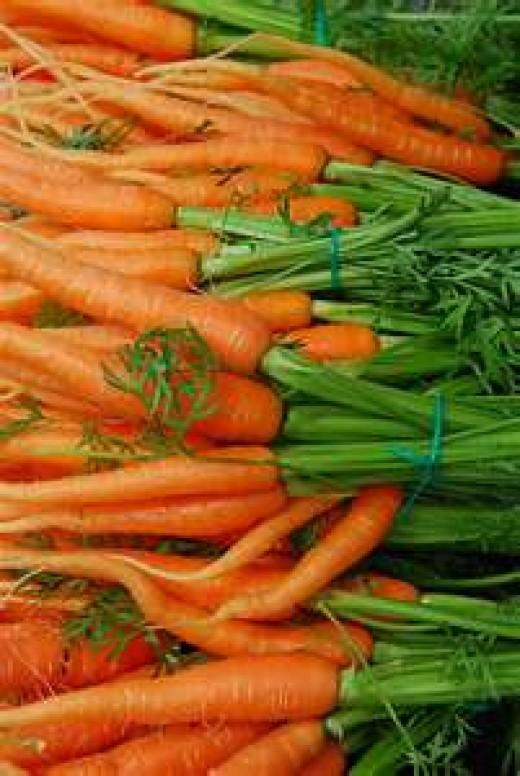 Alaskan carrots