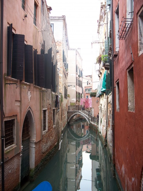 Silent Back Streets of Venice