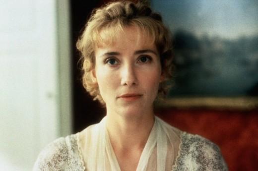 "Emma Thompson as Elinor Dashwood in ""Sense and Sensibility"" (1995)"