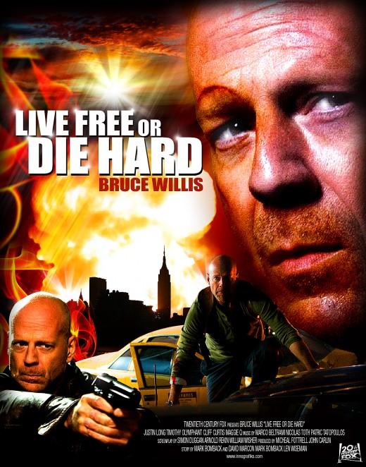 Die Hard Movies: Die Hard 4.0 Live Free or Die Hard