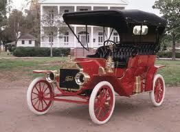 Without planes we can imagine an era of driving around in these Model T's.