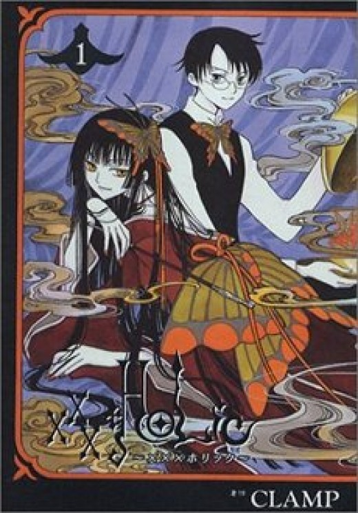 xxxHolic has some of the most beautiful artwork.  I looove this show.