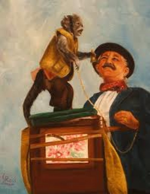 """I would surely need a trained monkey named, """"Grover,"""" for my waiting room show. Monkeys are cute. Loved by people sick or well. """"Grover"""" and I would be good friends. I would keep him in grapes and apples."""