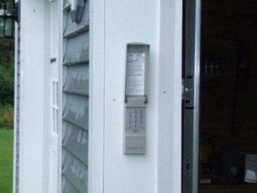 Outside Garage Door Keypad