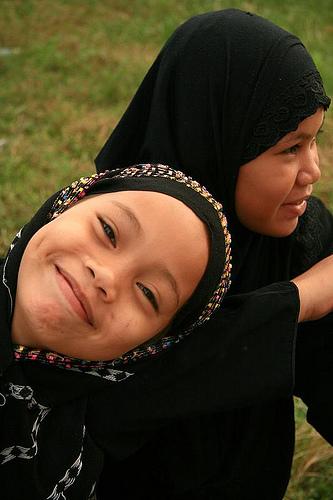 Muslim children.