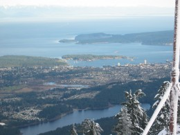 """Mr. Iwaskow believes linking public transit and the seawall with what he calls the """"East Coast Trail"""" will increase Eco-tourism in Nanaimo. He wants to make Nanaimo a destination for cycling, jogging, hiking and other outdoor activities."""