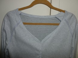 Huggable Hangers are more wider in neck and shoulder area.  Holds shirts more in form without creating hanger bumps.  Click on image for larger view.