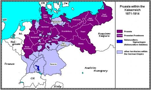 The Kaiserreich after 1871