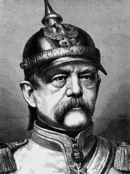 Otto von Bismarck, who would make the war he wanted