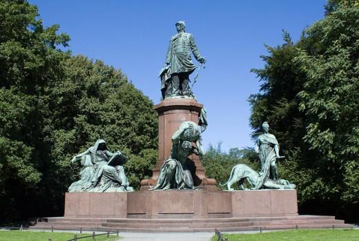 Monument to Bismarck, Tiergarten, Berlin