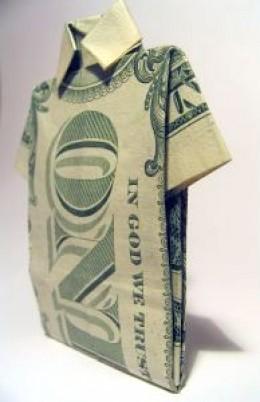 Dollar Origami 4 ~ License: SXU ~ Photographer: Piotr Bizior ~ www.bizior.com
