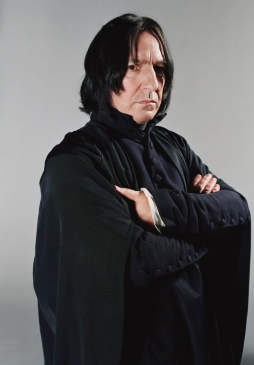 Severus Snape (played by Actor Alan Rickman)