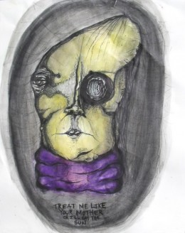 A Sample Of Frances Bean Cobain Art