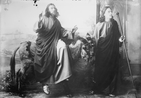 Jesus Christ And John in the 1900 Performance