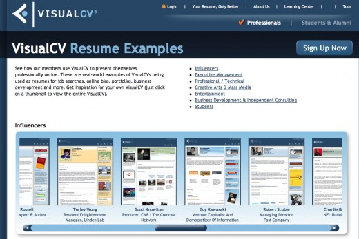 Visual CV is only one of the many online resume services available. Another you may wish to review is www.create-cv.com