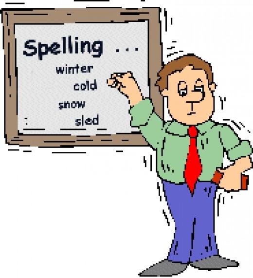 Spelling Lesson