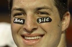 Respect Tim Tebow - John 3:16 - Is He Real or Show?