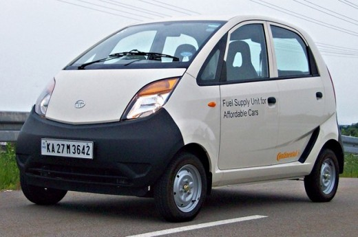 Tata Nano - Cheapest car in the world.