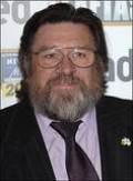 Ricky Tomlinson in his best togs