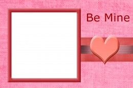 The second Valentine's Day Photo Card printable. Free to download and use!