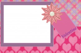 Send a Valentine's Message with a free printable card!