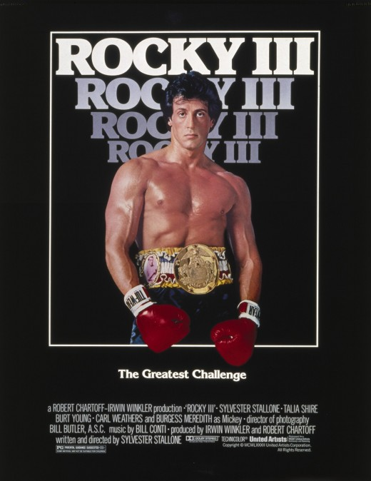 Rocky III Promotional Poster