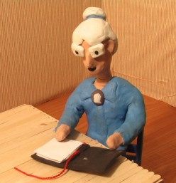 Claymation Tribute To Nanny (My Grandmother)