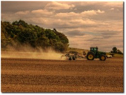 Heavy farm equipment designed for larger yields can compact the soil, making harvests -- ironically -- smaller.