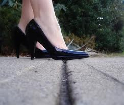 Don't step on that CRACK!!