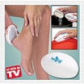 Ped Egg helps keep bottom of feet smooth.