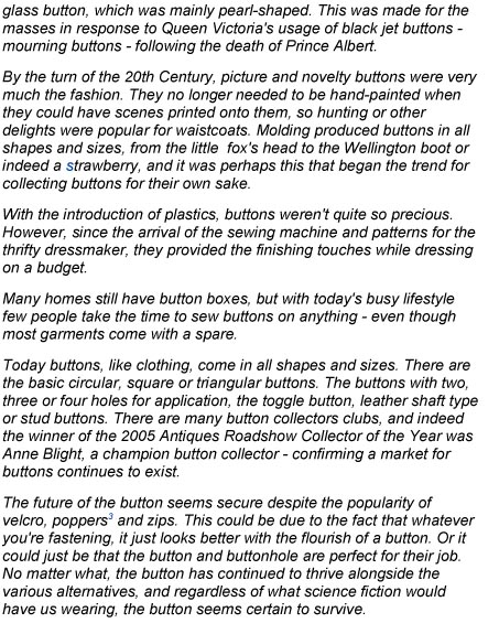 History of the Button-abridged