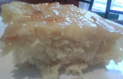 Pineapple Sunrise Cake