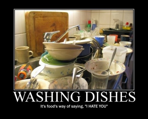 It's also a good way for customers to express their deep rooted hatred of dishwashers.