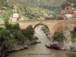 Cute bridge near Huancavelica
