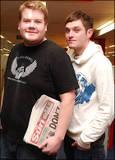 James Corden and Matthew Horne