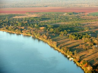 Ord River, from the Air, Western Australia