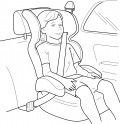 Buckle Up!  Big Kids in Booster Seats