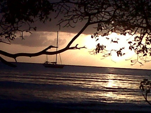 Sunset @ Pigeon Point