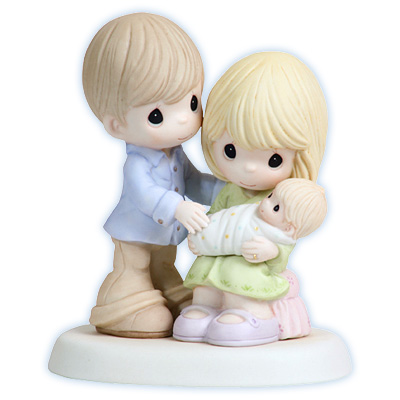 Figurine to celebrate a new addition to the family.