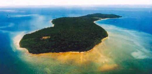 Pulau Tiga off Sabah, East Malaysia