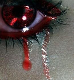 I cannot stop my tears of sorrow