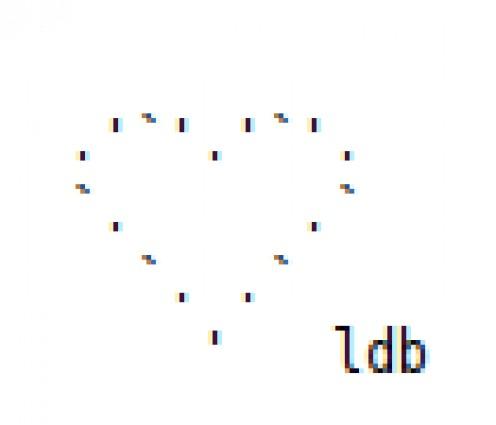 Valentine's Day Designs in ASCII Text Art