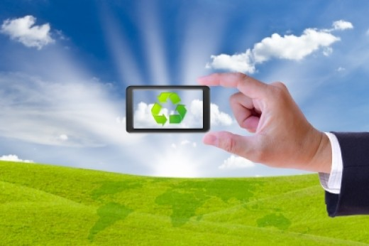 Recycling used appliances such as cell phones will help keep harmful chemicals and metals out of soil and groundwater.