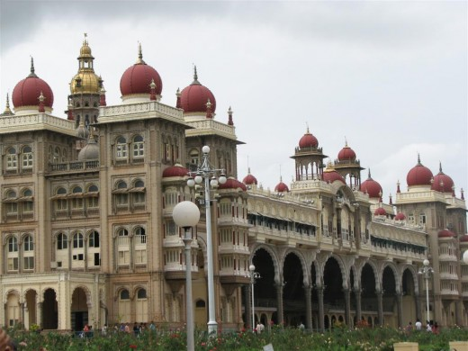 Mysore Palace- Is it not nice to work where you like to go for vacation?