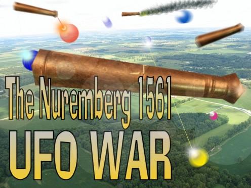 Nuremberg 1561 ufo war