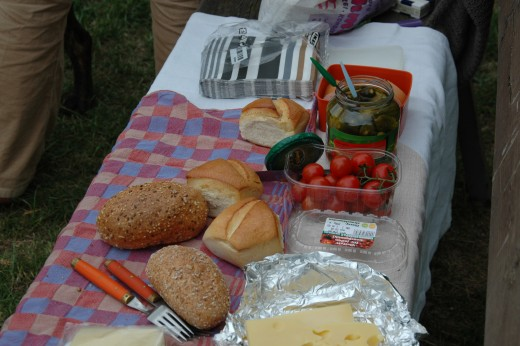 Pack a picnic and enjoy it in the zoo's picnic area.