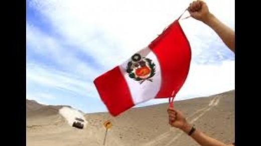 Flag from Peru