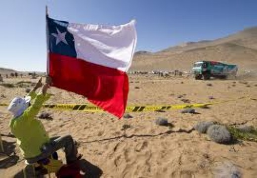 Flag from Chile